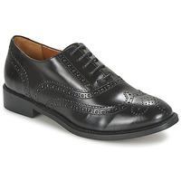 Cipők Női Bőrcipők Heyraud DEHBIA Fekete