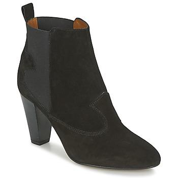 Cipők Női Bokacsizmák Heyraud DAISY Fekete