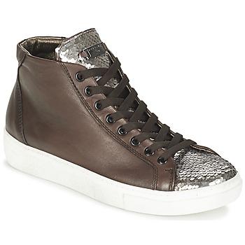 Cipők Női Magas szárú edzőcipők Tosca Blu ALEXA Barna / Ezüst