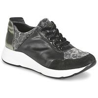 Cipők Női Rövid szárú edzőcipők Tosca Blu EDEN Fekete