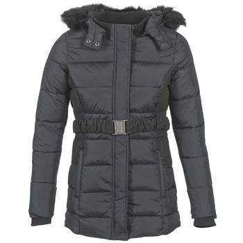 Ruhák Női Steppelt kabátok Kaporal CASPI Fekete