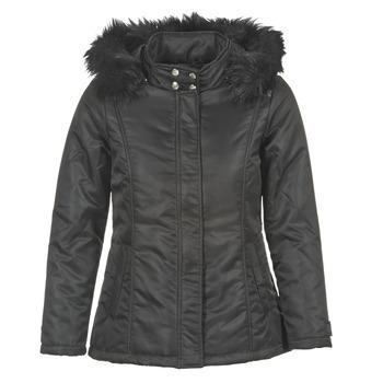 material Női Steppelt kabátok DDP FUNAPI Fekete