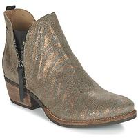 Cipők Női Csizmák Coqueterra LIZZY Arany