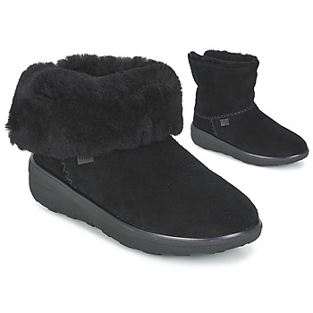 Shoes Női Csizmák FitFlop MUKLUK SHORTY 2 BOOTS Fekete