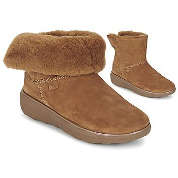 Cipők Női Csizmák FitFlop SUPERCUSH MUKLOAFF SHORTY Mogyoró