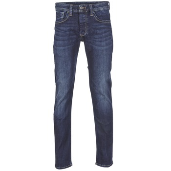 Ruhák Férfi Egyenes szárú farmerek Pepe jeans CASH Z45 / Kék / Sötét