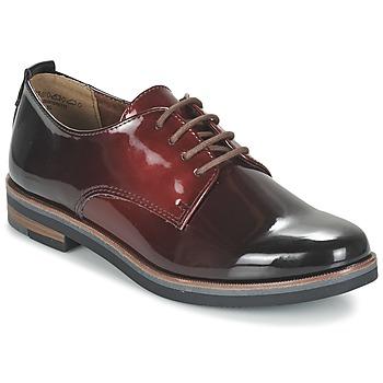 Cipők Női Oxford cipők Marco Tozzi TREFLO Piros / Sötét