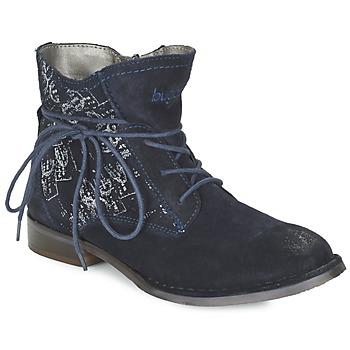 Cipők Női Csizmák Bugatti LEEALE Tengerész