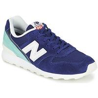 Cipők Női Rövid szárú edzőcipők New Balance WR996 Tengerész