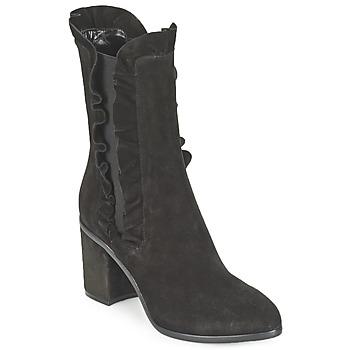 Cipők Női Bokacsizmák Sonia Rykiel CARAMINA Fekete
