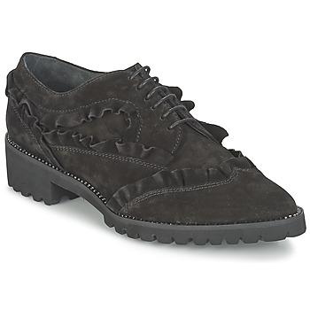 Cipők Női Oxford cipők Sonia Rykiel CARACOMINA Fekete