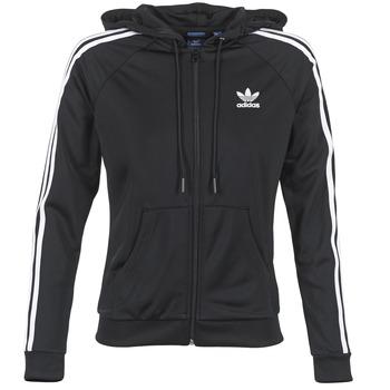 Ruhák Női Melegítő kabátok adidas Originals SLIM FZ HOODIE Fekete
