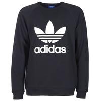 material Férfi Pulóverek adidas Originals TREFOIL CREW Fekete