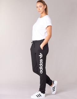 Ruhák Női Futónadrágok / Melegítők adidas Originals LIGHT LOGO TP Fekete