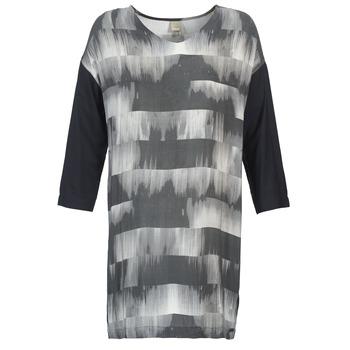 material Női Rövid ruhák Bench CRISP Fekete  / Szürke