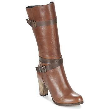 Shoes Női Városi csizmák Lola Espeleta REINETTE Konyak