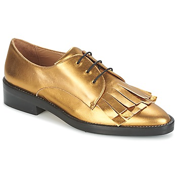 Cipők Női Oxford cipők Castaner GERTRUD Arany