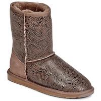 Cipők Női Csizmák EMU STINGER PRINT LO Barna