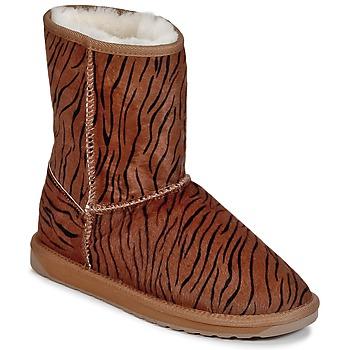 Cipők Női Csizmák EMU STINGER FUR LO Sávos
