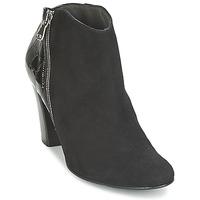 Cipők Női Bokacsizmák France Mode NANTES Fekete  / Lakkozott