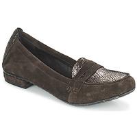 Cipők Női Mokkaszínek Regard REMAVO Barna