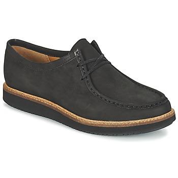 Cipők Női Oxford cipők Clarks GLICK BAYVIEW Fekete