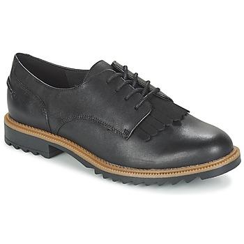 Cipők Női Oxford cipők Clarks GRIFFIN MABEL Fekete