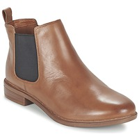 Cipők Női Csizmák Clarks TAYLOR SHINE Barna