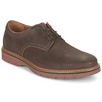 Cipők Férfi Oxford cipők Clarks NEWKIRK PLAIN Barna