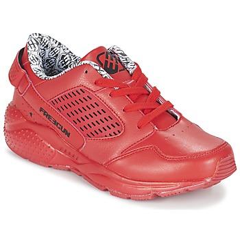 Cipők Fiú Rövid szárú edzőcipők Freegun FADSA Piros
