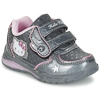Shoes Lány Rövid szárú edzőcipők Hello Kitty FANELY LIGHT Szürke
