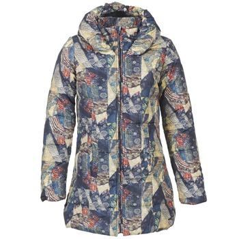 Ruhák Női Steppelt kabátok Smash BOMBON Sokszínű