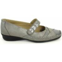Cipők Női Balerina cipők  Boissy Ballerine Lunel Gris Beige Szürke