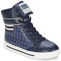 Cipők Női Magas szárú edzőcipők Marc by Marc Jacobs CUTE KIDS MINI TOTO PLAID Kék / Sokszínű