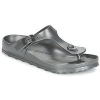 Cipők Női Lábujjközös papucsok Birkenstock GIZEH EVA Antracit / Fémes