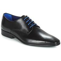 Cipők Férfi Oxford cipők Azzaro JORY Fekete