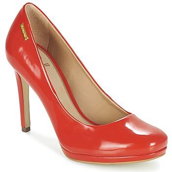 Cipők Női Félcipők Dumond LOUBAME Piros