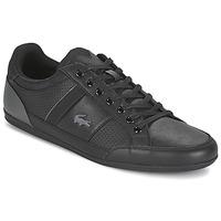 Cipők Férfi Rövid szárú edzőcipők Lacoste CHAYMON 316 1 Fekete