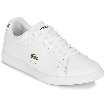 Cipők Női Rövid szárú edzőcipők Lacoste CARNABY EVO BL 1 Fehér