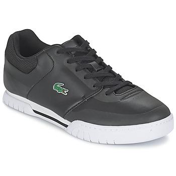 Cipők Férfi Rövid szárú edzőcipők Lacoste INDIANA EVO 316 1 Fekete