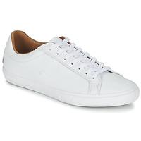 Shoes Női Rövid szárú edzőcipők Lacoste GRAD VULC Fehér