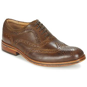 Cipők Férfi Oxford cipők Hudson KEATING CALF Barna
