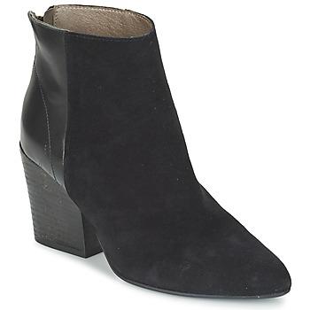 Cipők Női Bokacsizmák Hudson MELI CALF Fekete