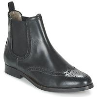 Cipők Női Csizmák Hudson ASTA CALF Fekete