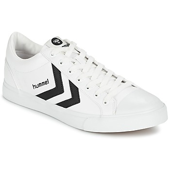 Shoes Rövid szárú edzőcipők Hummel DEUCE COURT SPORT Fehér