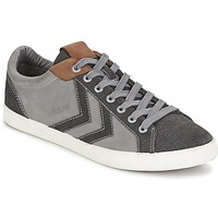 Shoes Rövid szárú edzőcipők Hummel DEUCE COURT WINTER Szürke
