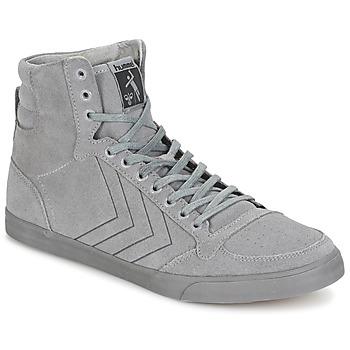 Shoes Magas szárú edzőcipők Hummel TEN STAR TONAL HIGH Szürke