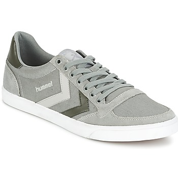 Shoes Rövid szárú edzőcipők Hummel TEN STAR DUO CANVAS LOW Szürke
