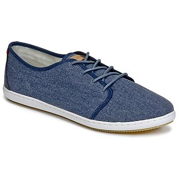 Cipők Férfi Rövid szárú edzőcipők Lafeyt DERBY HEAVY CANVAS Tengerész