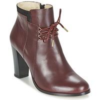 Shoes Női Bokacsizmák M. Moustache EMMA Bordó / Fekete